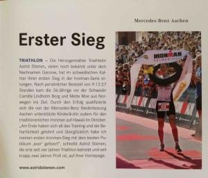 Erster Sieg_Mercedes Benz Aachen