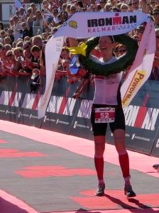 Ironman Siegerin Astrid Stienen